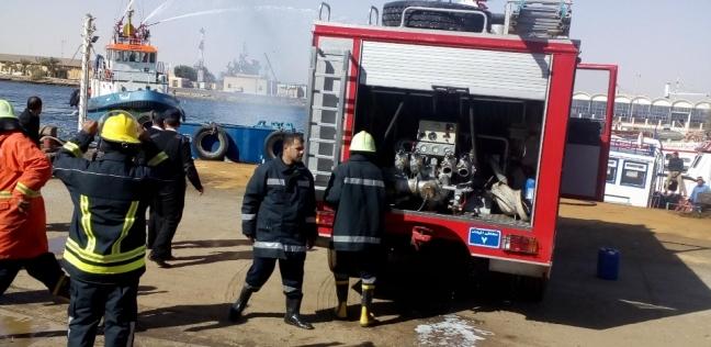 السيطرة على حريق في معهد شلل الأطفال بإمبابة
