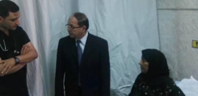 زيارة مفاجئة لوكيل وزارة الصحة بالمنوفية لمستشفى قويسنا المركزي
