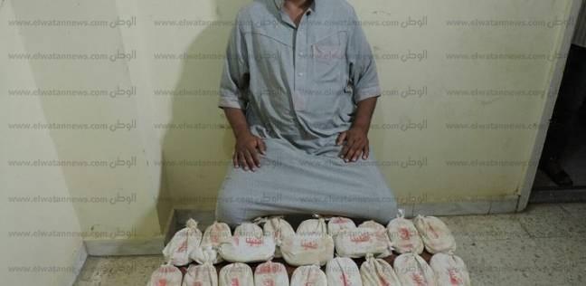 ضبط سائق بحيازته كمية من نبات البانجو المخدر بشمال سيناء