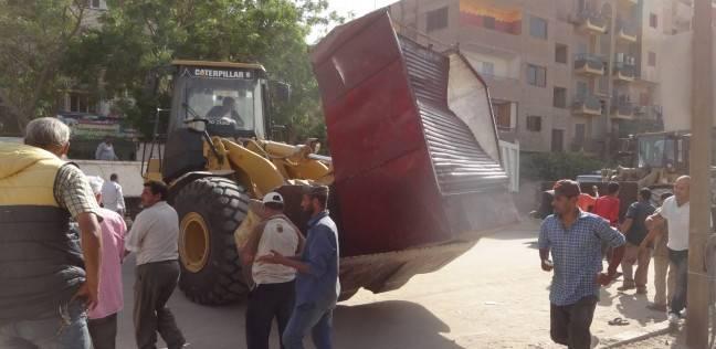 إزالة 119 كشكا مخالفا في أحياء القاهرة