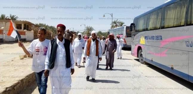 بالصور| محافظ مطروح: أصغر قرية مصرية تلبي نداء الوطن وتصوت بنسبة 100%