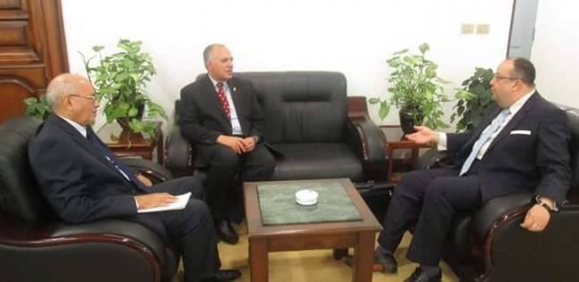 وزير الري يلتقي سفير مصر الجديد لدى السودان