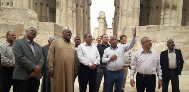 قيادات بالأزهر من معبد الأقصر: مصر واحة الأمن والأمان