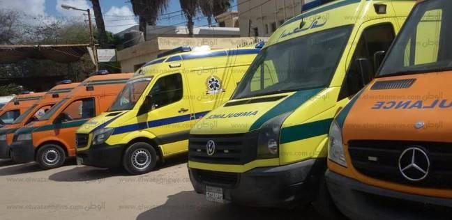 توزيع 70 سيارة إسعاف بمراكز شمال سيناء للطوارئ بعيد الأضحى