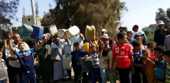الشرقية: انقطاع المياه عن 4 قرى والأهالى: مجاملات فى التوزيع