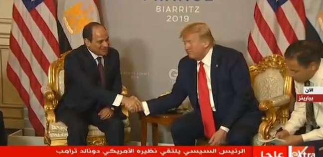 عاجل.. ترامب يشيد بمستوى التنسيق والتشاور مع مصر