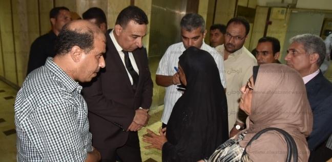 """صور.. """"أبو غنيمة وأنيس"""" يتفقدان العمل بمستشفى مطروح العام"""