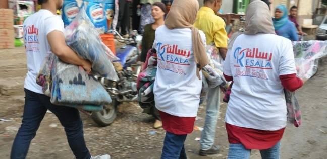 """بالتزامن مع """"يوم المرأة"""".. """"رسالة"""" توفر احتياجات عرائس وتنفذ عشرات المشروعات الخاصة بالنساء"""