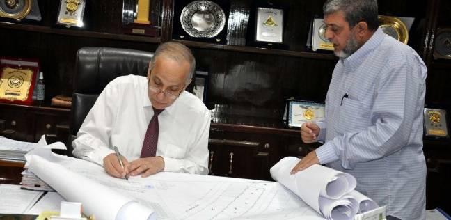 """محافظ القليوبية يعتمد المخطط التفصيلي لحوض """"الرزقة"""" لمدينة بنها"""