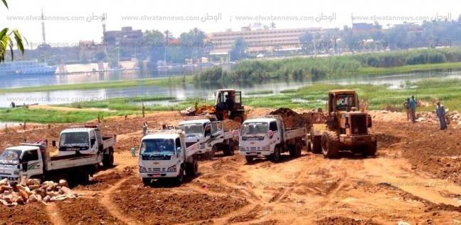 """""""الري"""": إزالة 22 حالة تعد على النيل بـ4 محافظات"""