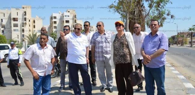 محافظ الإسماعيلية: استمرار تطوير الطريق الدائري والحدائق المجاورة
