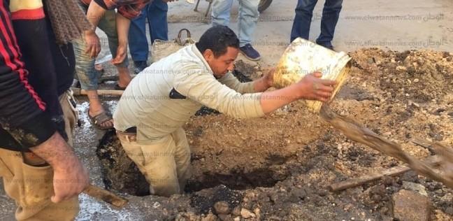رئيس حي ثان المحلة يخاطب شركة المياه لإجراء صيانة حفاظا لصالح مواطنين