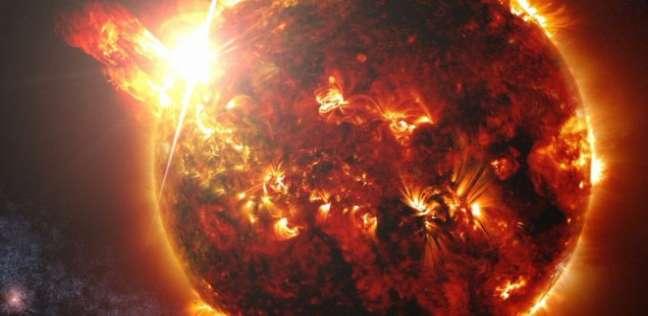 انفجار في الشمس