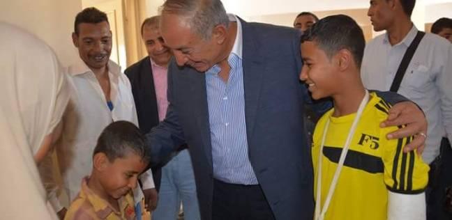 محافظ البحر الأحمر يزور مستشفى رعاية الأسرة بمدينة مرسى علم