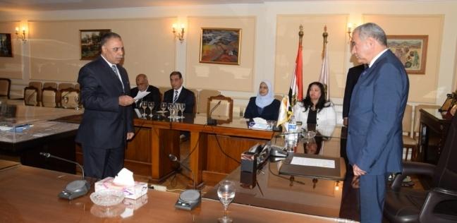 بالصور| وزير التموين يشهد أداء اليمين لـ6 قيادات جدد بالوزارة