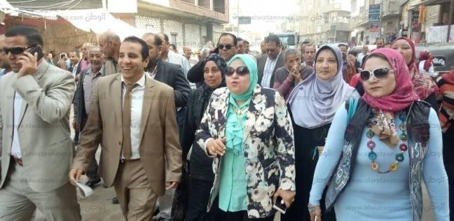 مسيرة لحث المواطنين على المشاركة في الانتخابات بالدلنحات