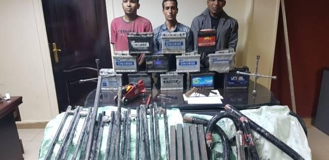 ضبط تشكيل عصابي لسرقة بطاريات السيارات في شبرا