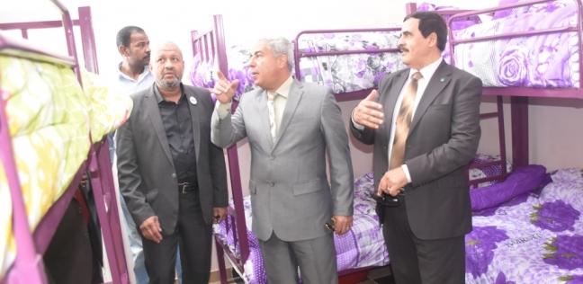 محافظ أسوان يفتتح مبنى سكن طالبات الدراسات الإسلامية بجامعة الأزهر