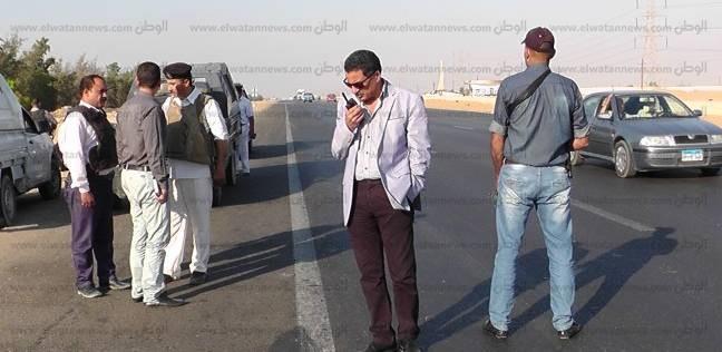 مدير الإدارة العامة للمرور يتفقد الطريق الدائري ويكافئ القوات الأمنية