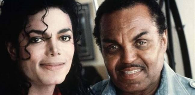 مايكل جاكسون ووالده