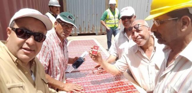 ضبط محاولة تهريب كمية من السجائر الأجنبية بجمارك شرق بورسعيد