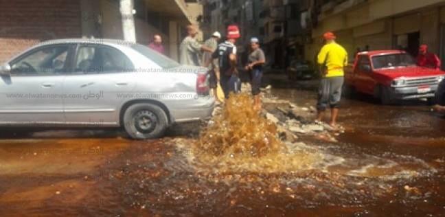 رئيس حي الزيتون يحذر الأهالي من إهدار مياه الشرب