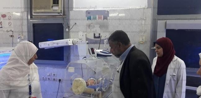 صور.. مدير الرعاية بالشرقية يتفقد مستشفى أولاد صقر وكفر صقر