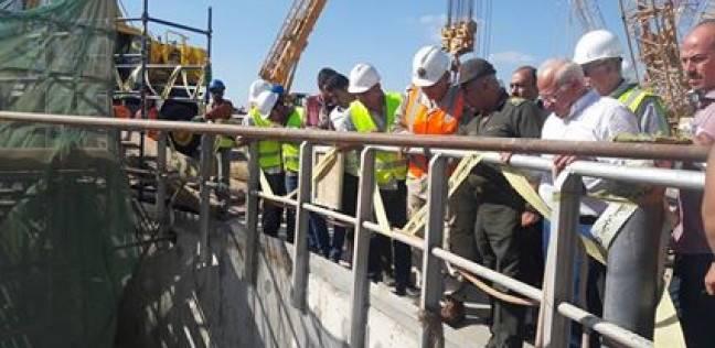 بدء أعمال حفر أنفاق بورسعيد أسفل قناة السويس في أكتوبر