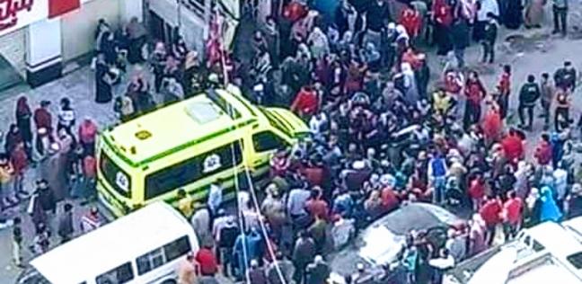 مصرع طفل دهسا أسفل عجلات سيارة ميكروباص بشرق الإسكندرية