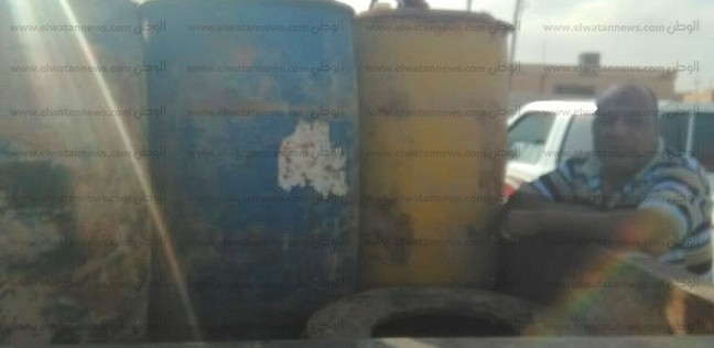 ضبط طن بنزين و40 أسطوانة بوتاجاز قبل بيعها بالسوق السوداء في الغربية