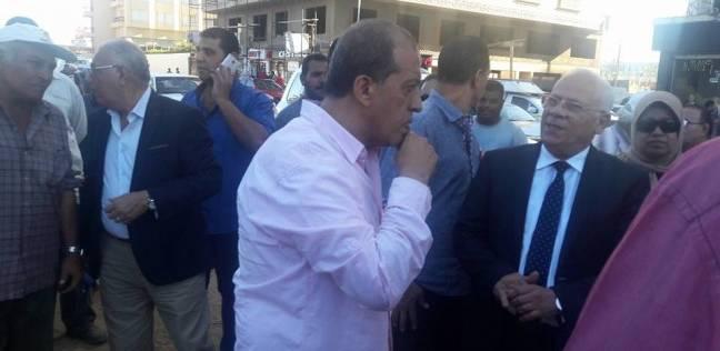 محافظ بورسعيد يطالب بسرعة الانتهاء من أعمال توسعة الطريق بمحيط ديليسبس