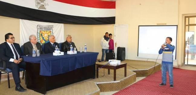 محافظ جنوب سيناء يمنح الطلاب الموهوبين مكافأة مالية
