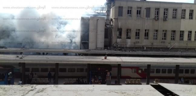 بالصور| انفجار وقود خزان جرار داخل «محطة مصر» ووقوع إصابات