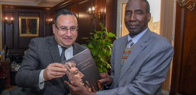 بالصور| «قنصوة» لسفير غينيا: نرغب في عمل توأمة بين الإسكندرية وكوناكري