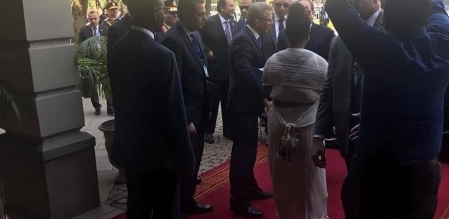 الرئيس السيسي يصل مقر إقامته في أديس أبابا