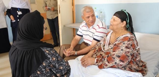 محافظ المنوفية ينقذ عين طفلة فى «رمد شبين»