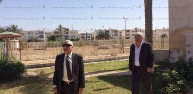 سكرتير جنوب سيناء يكلف بالانتهاء من تطوير مدخل قرية الوادي