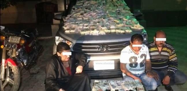 ضبط 421 ألف قرص مخدر بحوزة 3 متهمين في الشرقية