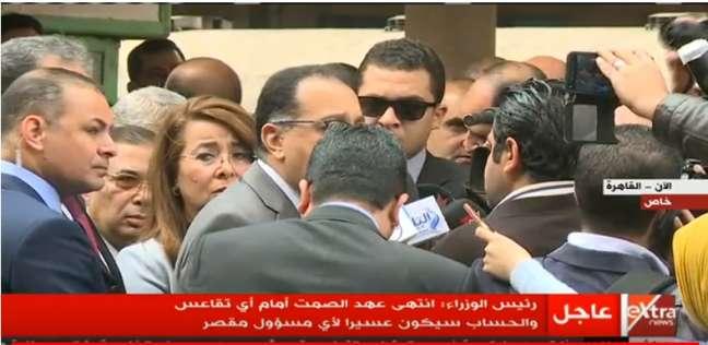 """رئيس الوزراء يوجه بإجراء """"بحوثًا اجتماعية"""" لضحايا حريق محطة مصر"""