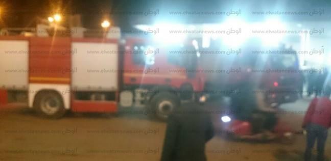 حريق بسيارة نقل في دمياط دون خسائر بشرية