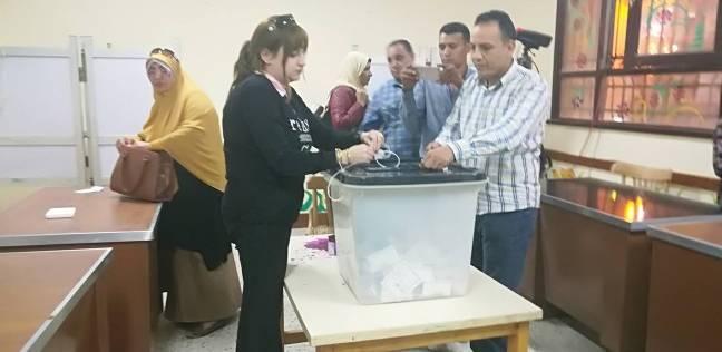 بالصور| إغلاق باب التصويت في اليوم الأول للانتخابات ببني سويف