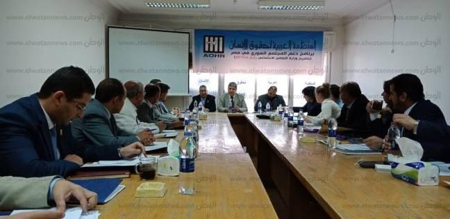 """""""العربية لحقوق الإنسان"""" ينهي استعداداته لمتابعة الانتخابات الرئاسية"""