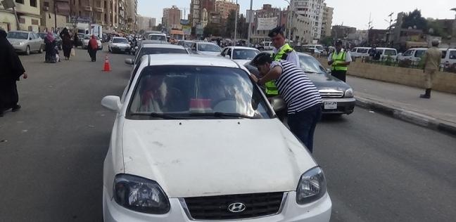 """""""مرور السويس"""" تضبط 20 سائقا يتعاطون المخدرات أثناء القيادة"""