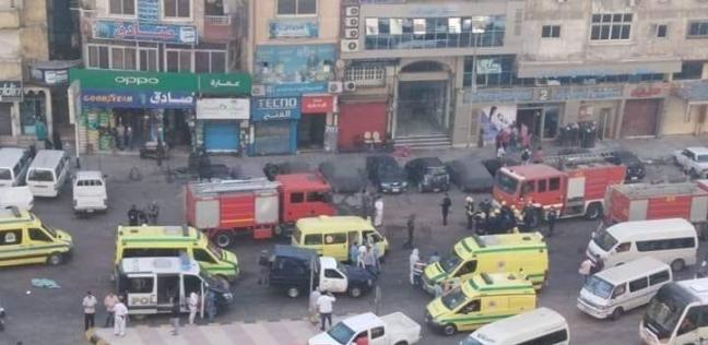 يوم الحرائق في مستشفيات إسكندرية