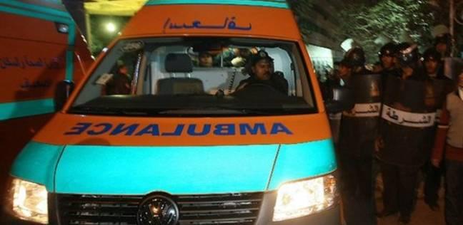 إصابة ضابط وأمين شرطة و3 مجندين إثر انقلاب مدرعة بطريق السويس