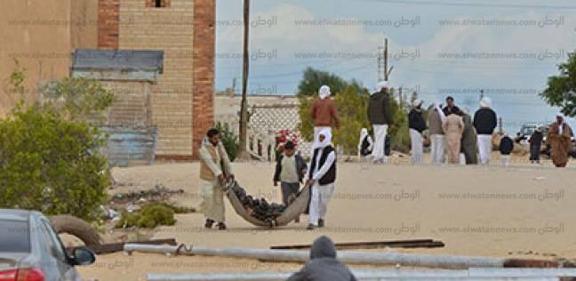 """""""والي"""": قرية الروضة بها 1200 رجل واستشهد منهم 305 بمعدل أكثر من 25%"""