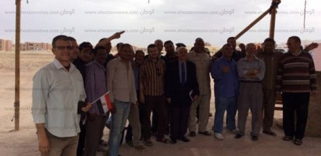 مواطنو سانت كاترين وفيران يتوافدون على لجان طور سيناء