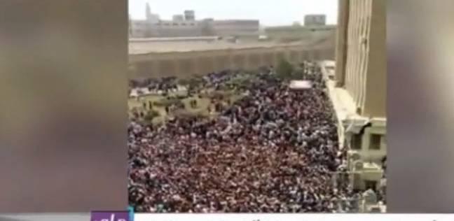 """أحمد موسى: """"تعظيم سلام لرجالة المحلة.. خرجوا في حشود"""""""