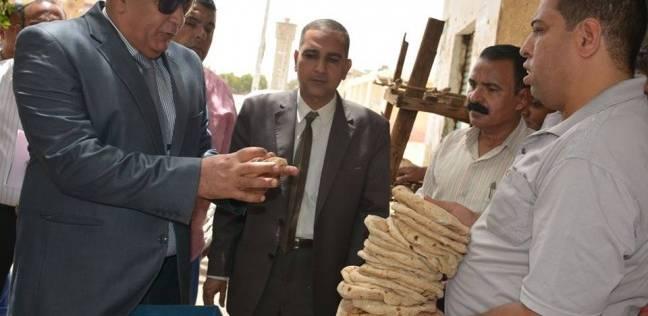 """""""الزملوط"""" يوجه باتخاذ الإجراءات القانونية ضد مخبز لمخالفة الوزن المقرر"""
