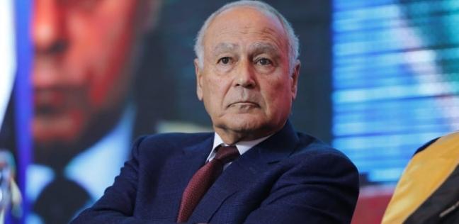 """""""أبو الغيط"""" يبحث مع """"لافروف"""" مسار التعاون العربي الروسي في المنطقة"""